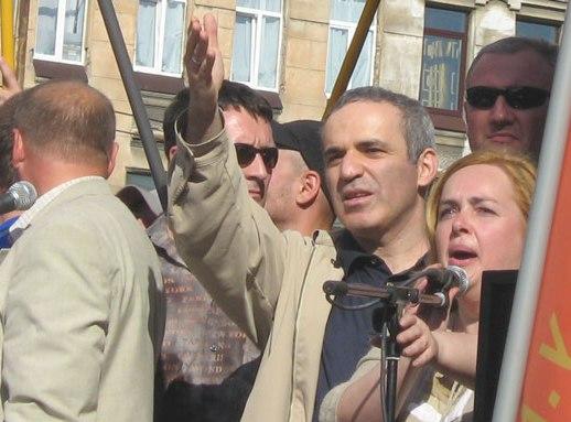 קספרוב במצעד הדיסידנטים נגד השלטונות ברוסיה 2007 ןיקיפדיה אנגלית