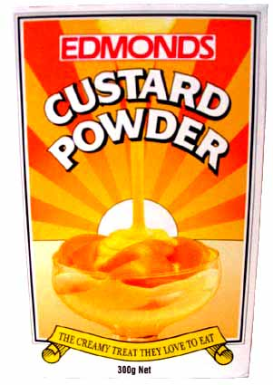 Where's the custard in your supermarket?