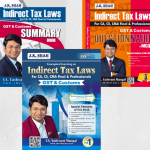 CA FINAL – INDIRECT TAX LAWS COMBO (FULL BOOK 20TH EDITION + QUESTIONER & MCQ + SUMMARY) BY CA YASHVANT MANGAL) APPLICABLE FOR NOV. 2020