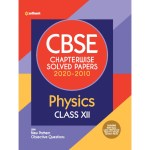 Arihant CBSE Chapterwise Solved Papers Physics for Class 12 (2021)