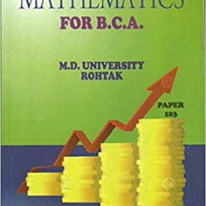 Elements of Mathematics (MDU University)  For B.C.A Paper-103