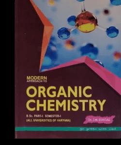 Modern organic Chemistry (MDU) B.Sc 1st year – S.P Jauhar