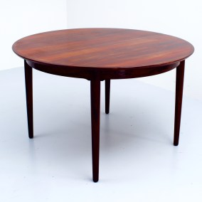 Arne Vodder Diningtable in Rosewood for Sibast Møbler, Denmark, 1960's