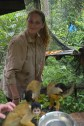 Hannah and squirrel monkeys