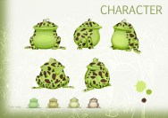 The toad : character design et turn du crapaud.