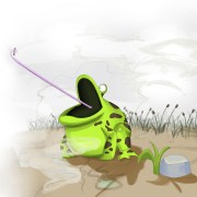 Animation 3D - Le crapaud