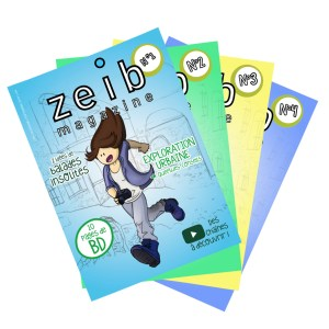 zeib mag - packaging