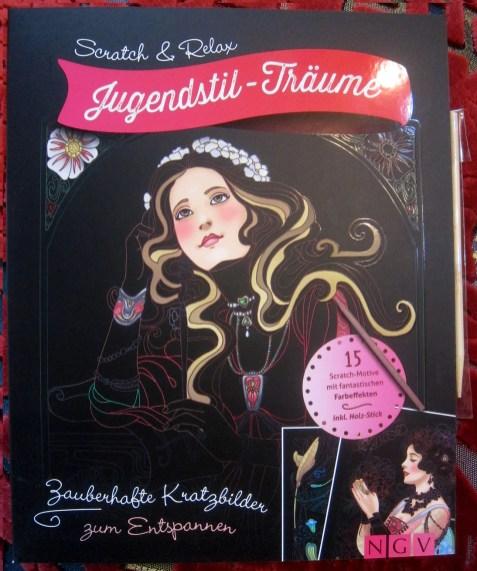 Cover Scratch & Relax: Jugendstil-Träume