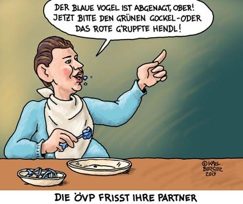 Die ÖVP frisst ihre Partner