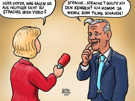 Hatte Strache je etwas mit der FPÖ zu tun?