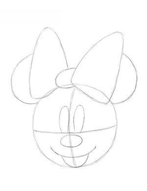 minnie mouse zeichnen # 7