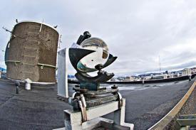 Island Wetter Sonnenschreiber