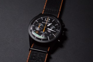 Das auf 500 Stück limitierte Modell BR 126 Carbon Orange