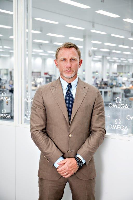 Daniel Craig is seen at the OMEGA Factory Visit in Switzerland_1