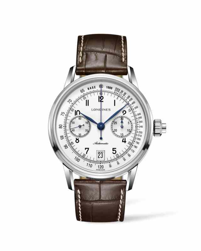 The Longines Column-Wheel Single Push-Piece Chronograph_L28004232