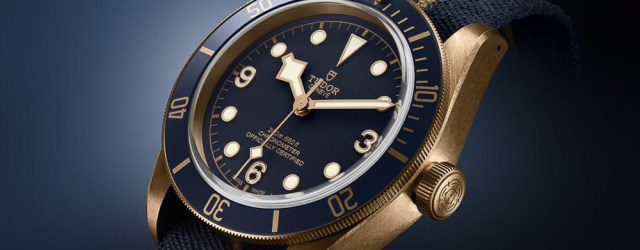 Tudor Black Bay Bronze Blue in Kooperation mit Bucherer
