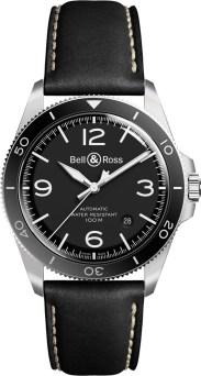 Bell & Ross Vintage BR V2-92 BLACK STEEL
