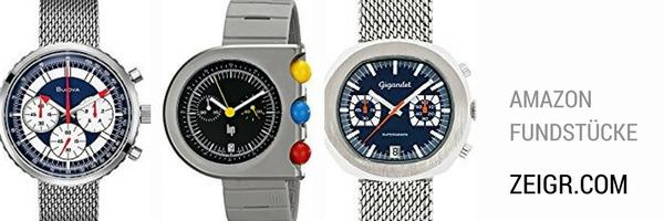 Fundstücke: Geschenkideen (Teil 1) – Extravagante Retro-Uhren