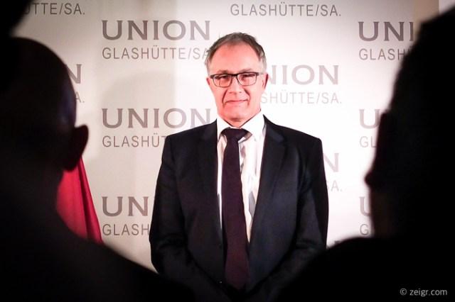 Union Glashütte Adrian Bosshard