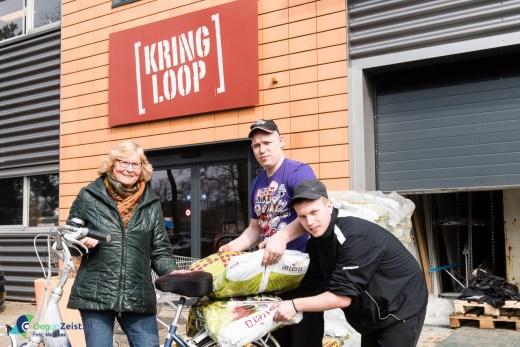 Gratis compost van de gemeente Zeist is op.