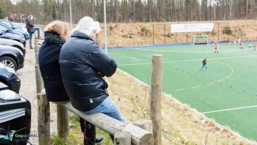 Koud in de skybox van Hockeyclub Schaerweijde