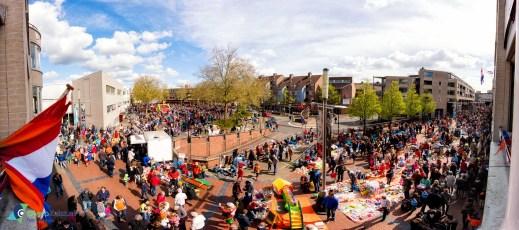 Kinder vrijmarkt op het Belcour