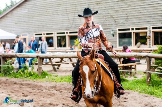 Landelijke Western Style Riding wedstrijd bij de White Socks Stables