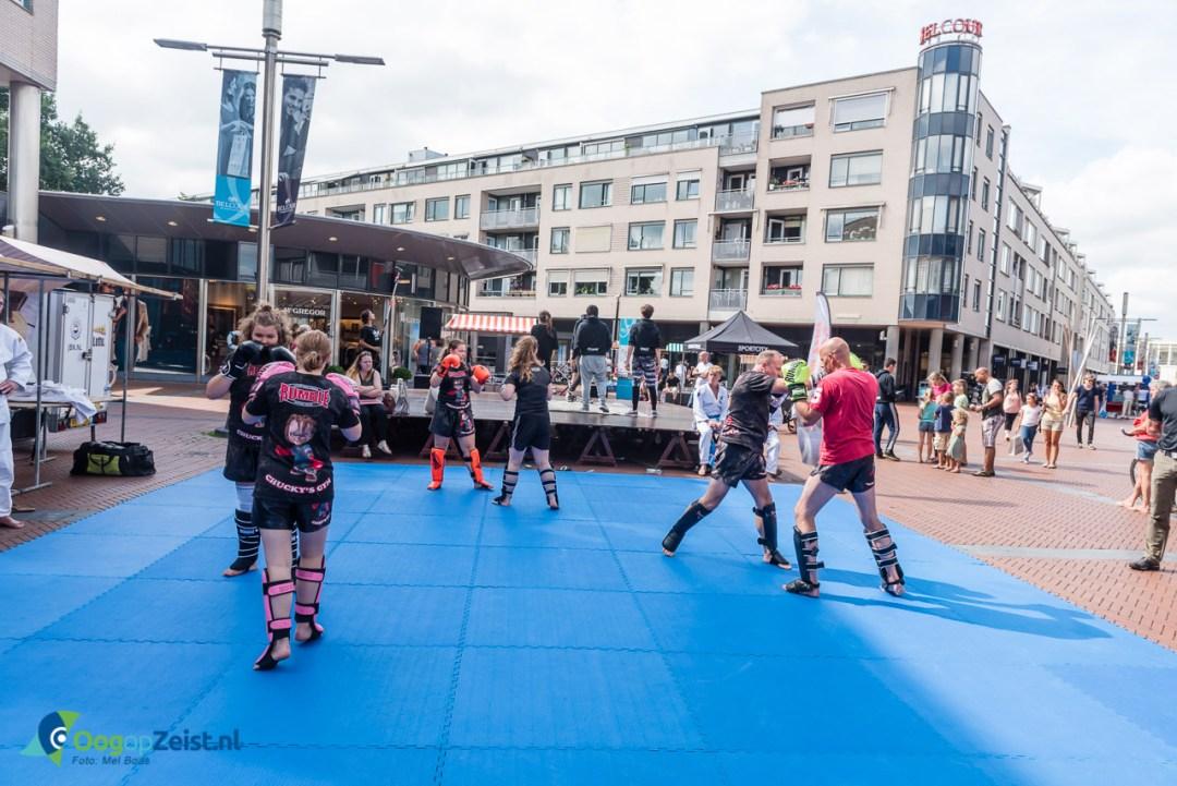Veel sportieve activiteiten in ht centrum van Zeist