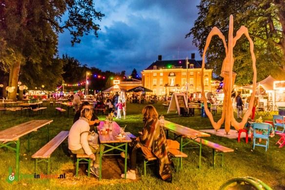Foodfestival Eten Op Rolletjes In De Tuin Van Slot Zeist