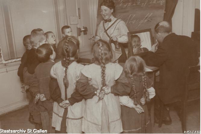Unterricht in der Sprachheilschule St.Gallen