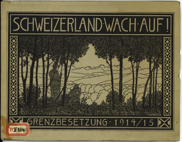 Titelblatt des vom Regierungsrat angekauften Werks