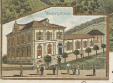 Webschule Wattwil 1901, Auszug aus einer Ansichtskarte