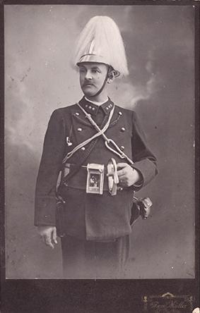 Feuerwehrkommandant St.Gallen, um 1907