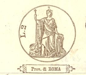 Briefkopf Provincia di Roma
