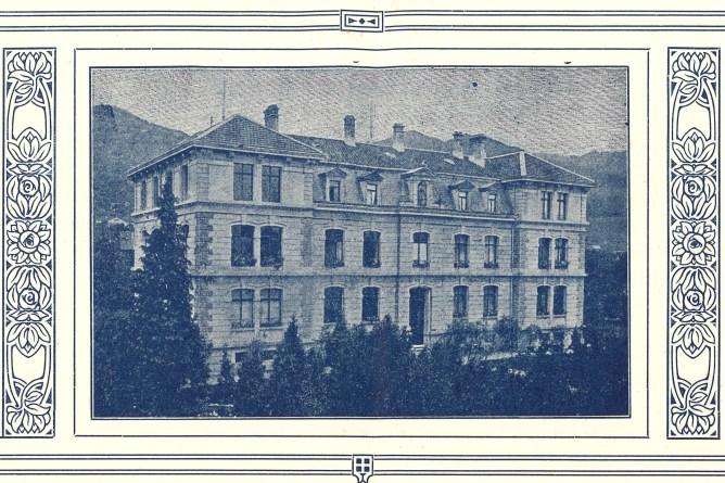 Waisenanstalt Altstätten, um 1917