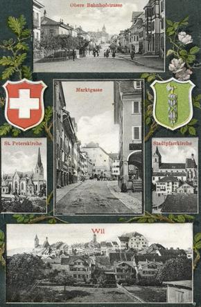 Ansichtskarte von Wil