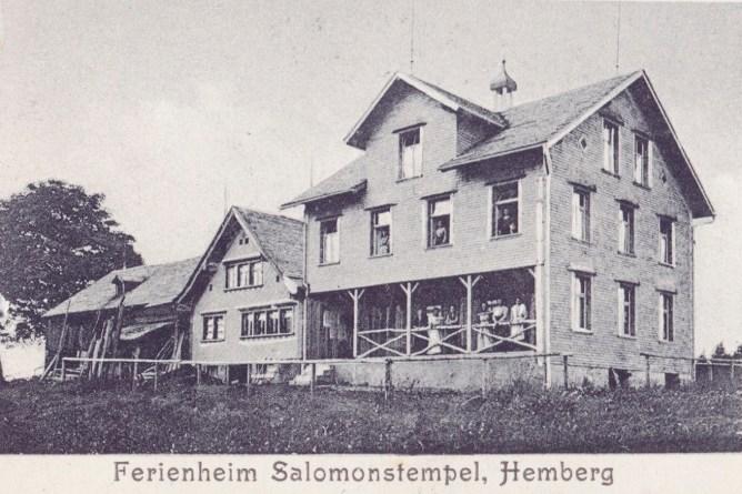 Ferienheim Salomonstempel, 1913