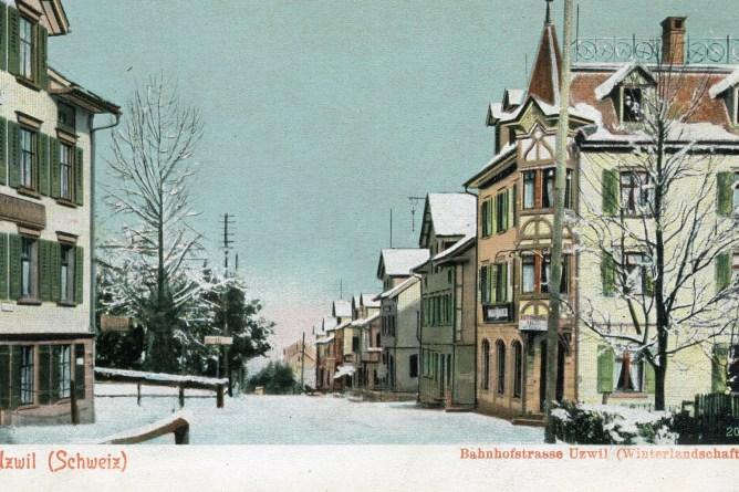 Uzwil, Bahnhofstrasse