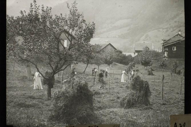 Heuen in Pfäfers, zwischen 1901 und 1919