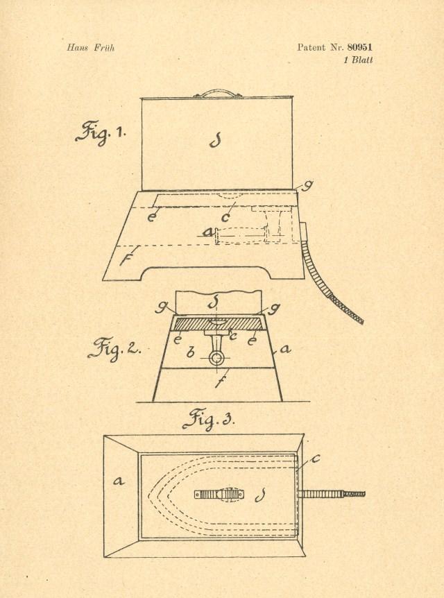 Patent Buegeleisen
