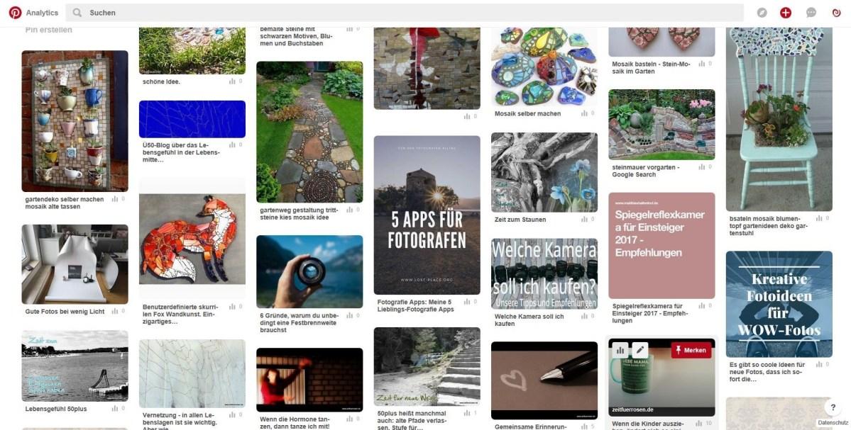 Pinterest für Best Ager