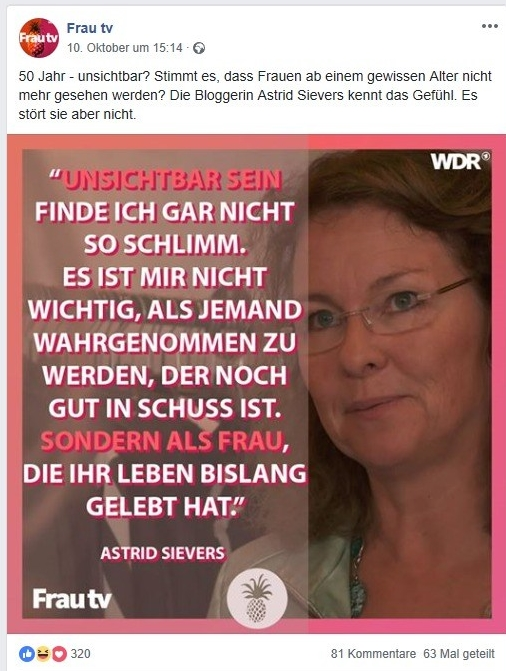 Frau TV_Zitat Astrid Sievers