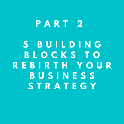part 2, 5 building blocks to rebirth your business strategy