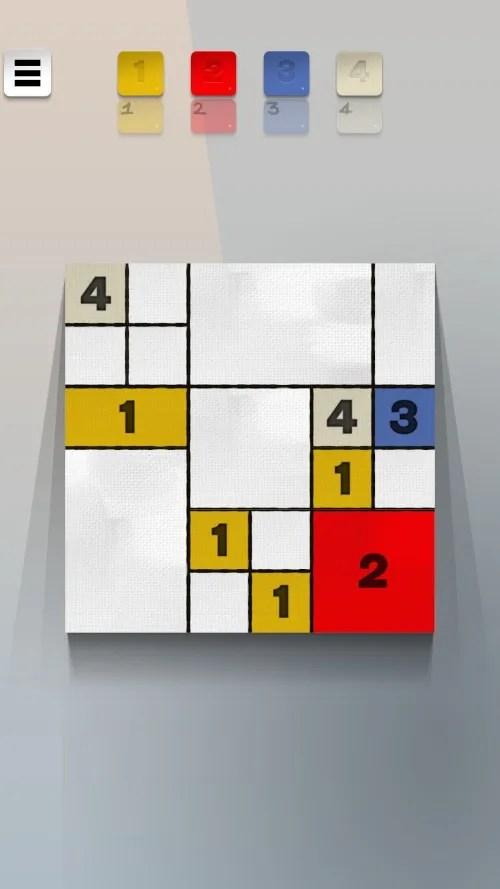 Screenshot des Handy Games Mondoku