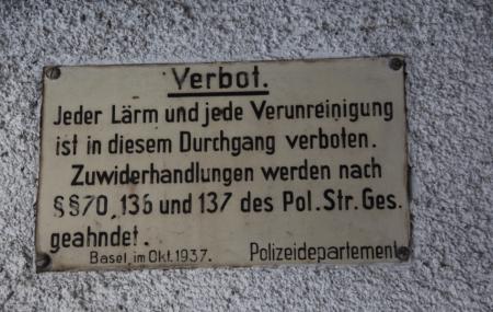 Verbotsschild 1937