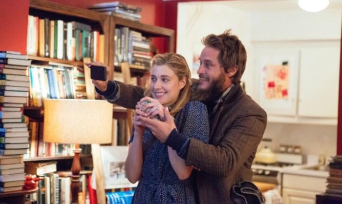 Maggie mit Vater in spe und Gurkenverkäufer Guy. (Bild: zVg)