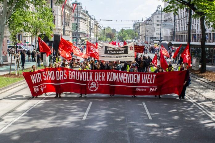 Die Partei der Arbeit zum 1. Mai in Epidemiezeiten