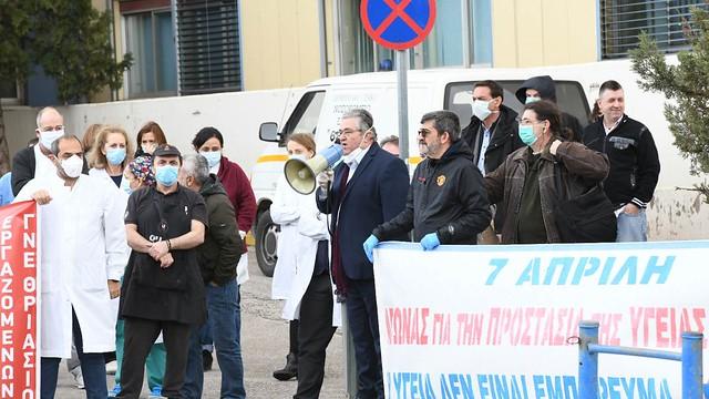 Landesweite Aktionen zum Weltgesundheitstag in Griechenland