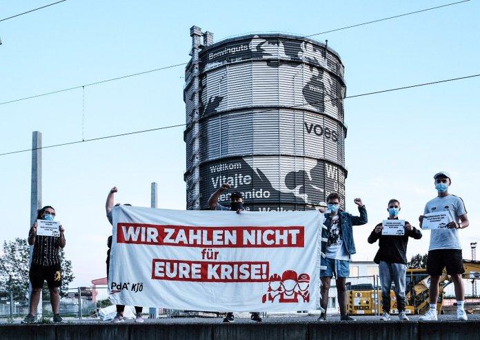 Oberösterreich, Voest: Wir zahlen nicht für eureKrise!
