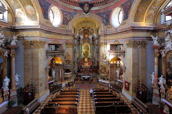 Ist die Wiener Peterskirche eine Kirche von katholischen Christen oder ein Tempel von Pharisäern?